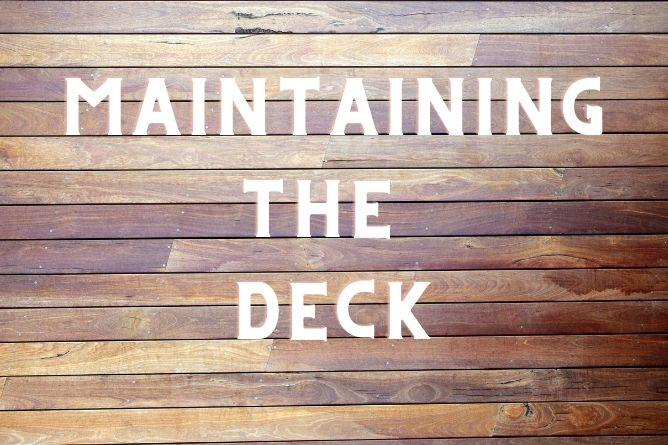 Best Ways To Maintain A Timber Deck