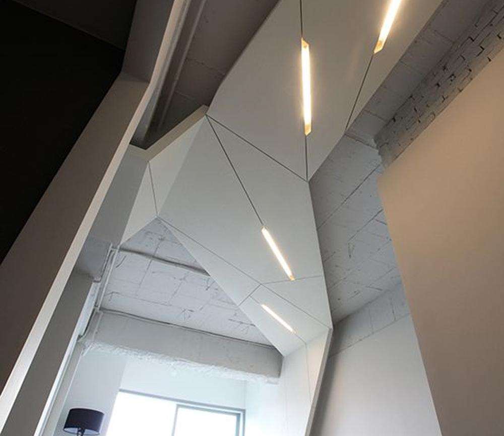 Desain Plafond futuristik