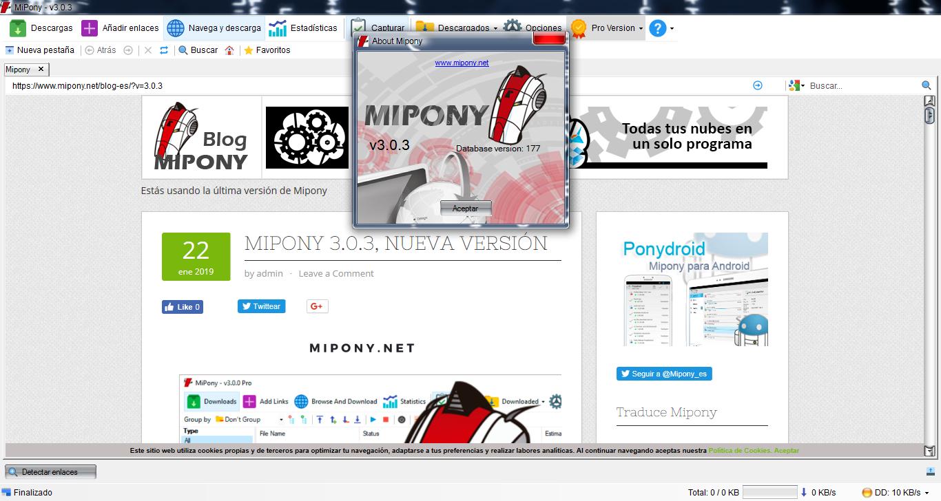 Mipony 3-0-3[instalador sin Malware/Setup]Españo]