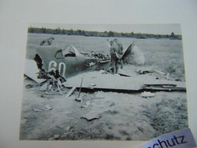 Altes-Foto-Zerstorter-Flieger-Flugzeug-Kennung-Nummer-WW2-57