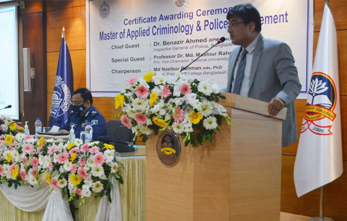 'Bangladesh police to be world class'