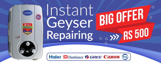 Geyser service in Lahore