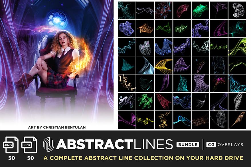 ultimate magic overlay bundle abstract lines