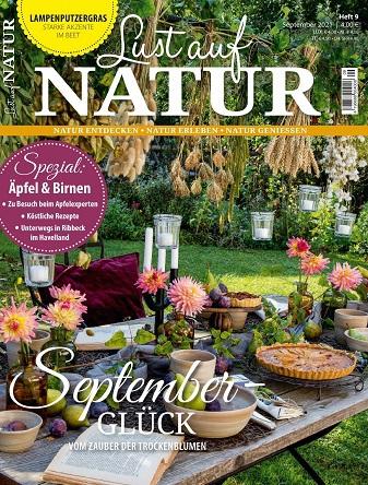 Cover: Lust auf Natur Magazin No 09 September 2021