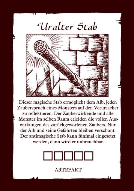 Artefakt-uralter-Stab
