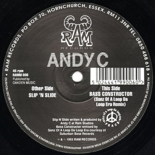 Andy C - Slip 'N Slide / Bass Constructor Remix