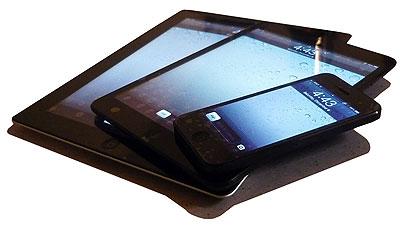 iPhone, iPad Mini and iPad