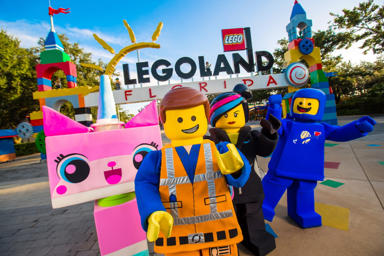 Legoland Florida meet characters