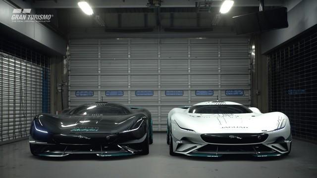 Jaguar Lève Le Voile Sur La Vision Gran Turismo SV : La Voiture De Course 100% Électrique Ultime Pour Les Passionnés De Course Automobile Jag-GTSV-Exterior-03-161220