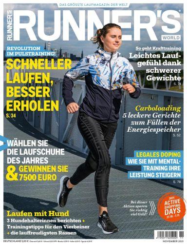 Cover: Runners World Magazin No 11 2021
