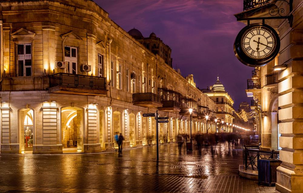 الاماكن السياحية في باكو