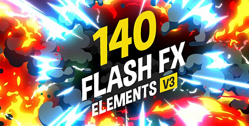 140 Flash FX Elements V3.1 11266469 - Project for After Effects (Videohive)