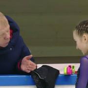 Дарья Усачёва и тренер / Daria Usacheva and coach