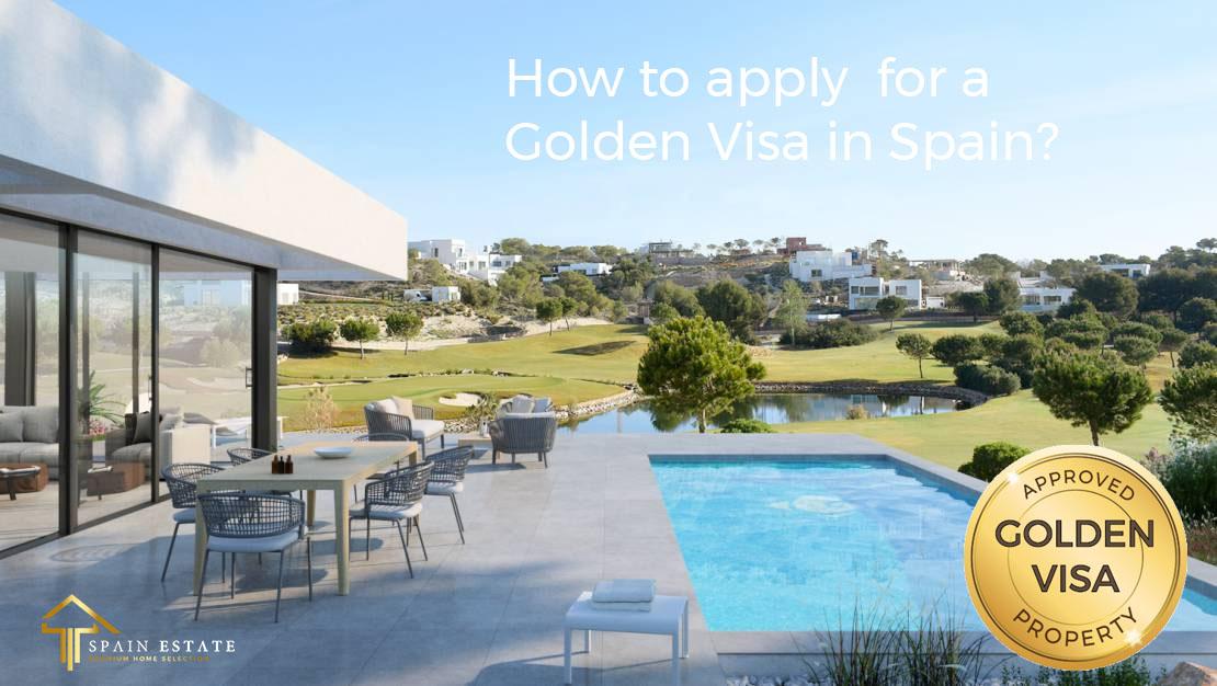 luxe huis en onroerend goed voor gouden visa in Spanje