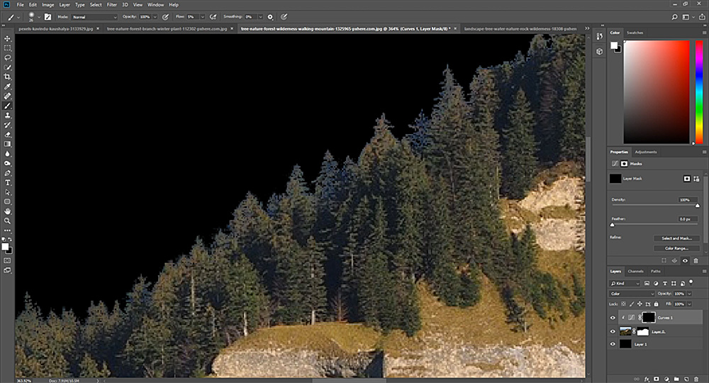 bonus 1 lesson skills screenshot 2 digital landscapes photoshop video training