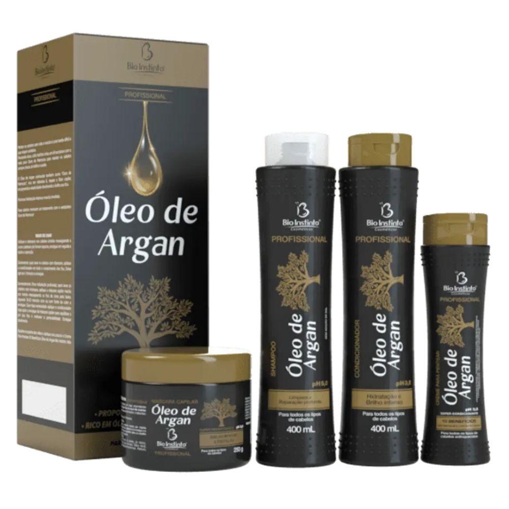 Kit Capilar Óleo De Argan Bio Instinto