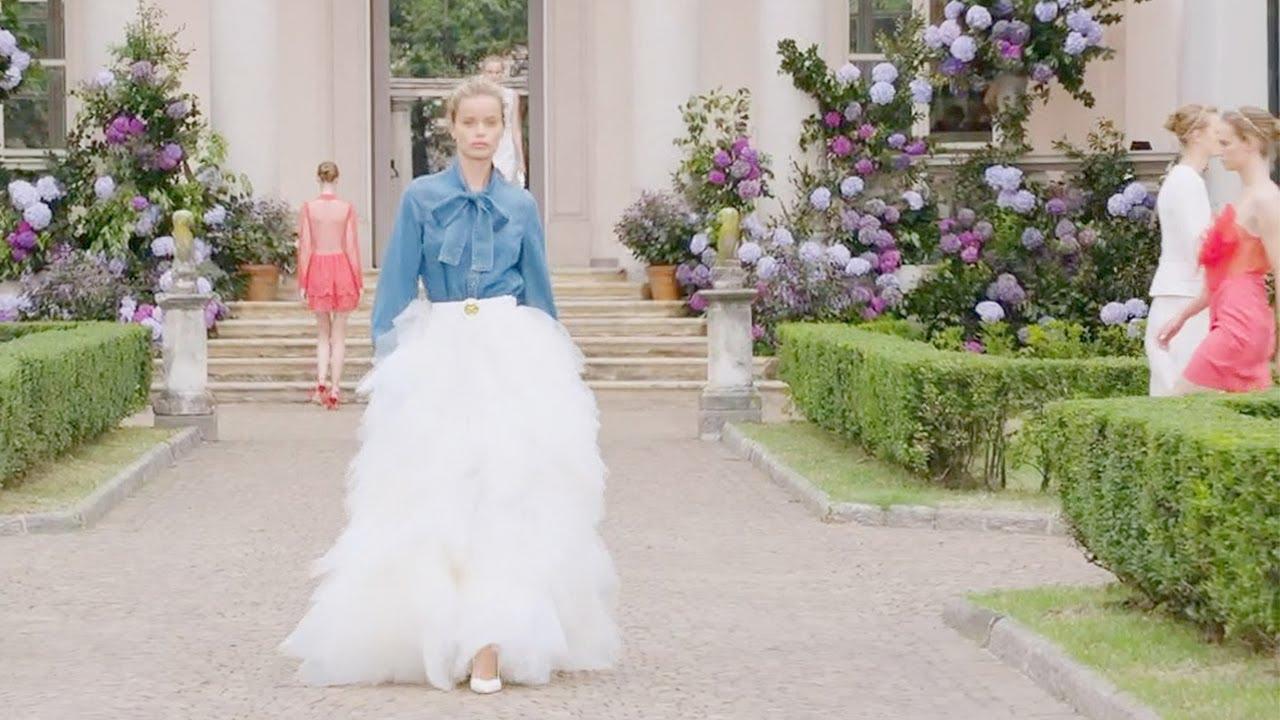 Elisabetta Franchi sfila in TV su Real Time