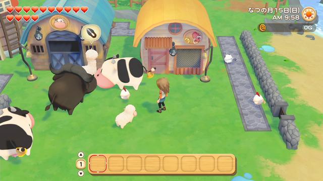 「牧場物語」系列首次在Nintendo SwitchTM平台推出全新製作的作品!  『牧場物語 橄欖鎮與希望的大地』 於今日2月25日(四)發售 013