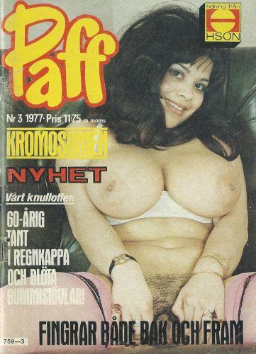 Cover: Paff Magazine No 03 1977