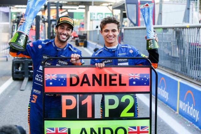 F1 GP d'Italie 2021 : vainqueur Daniel Ricciardo (McLaren) 1339862685
