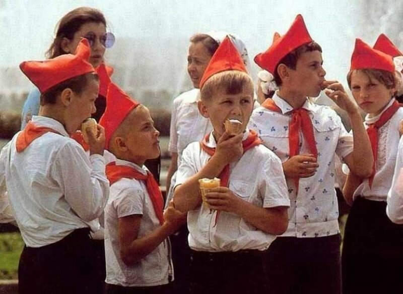 Счастливые советские дети