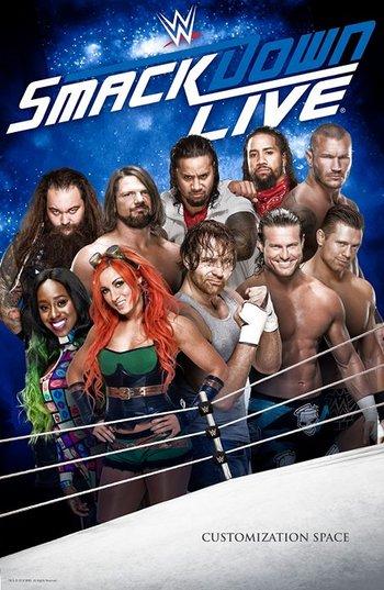 WWE Friday Night SmackDown (2 July 2021) English 480p HDRip 260MB Download