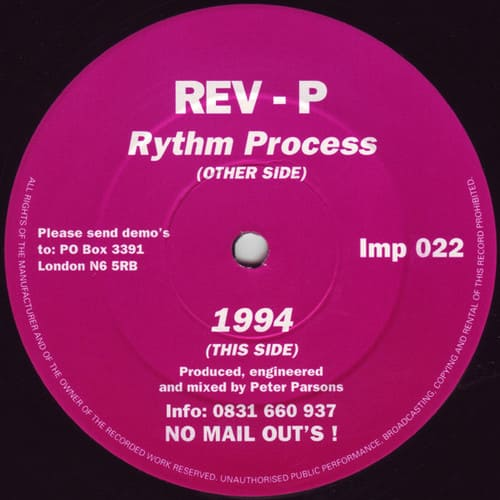 Rev-P - Rythm Process / 1994