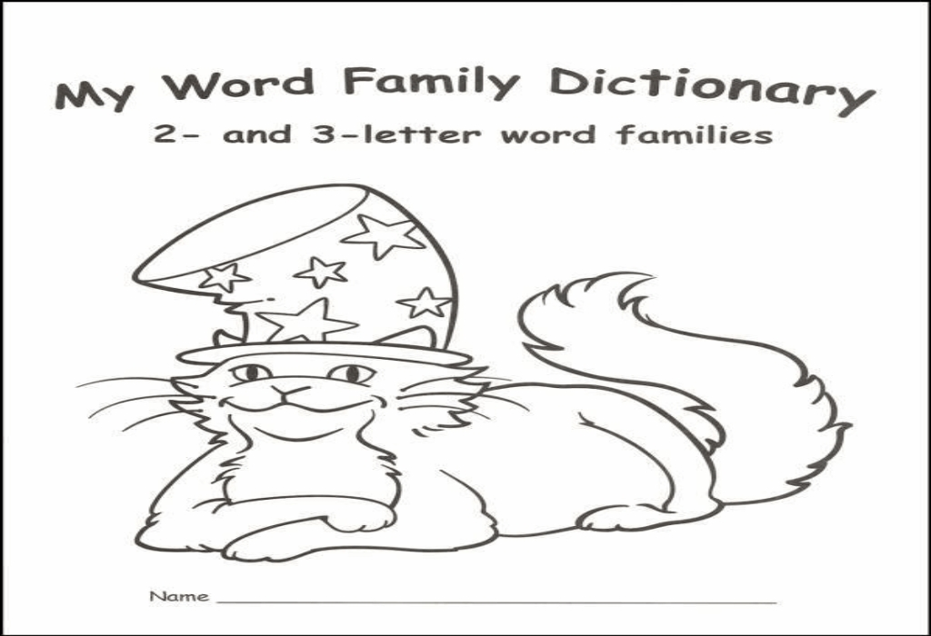 Word Family Dictionary