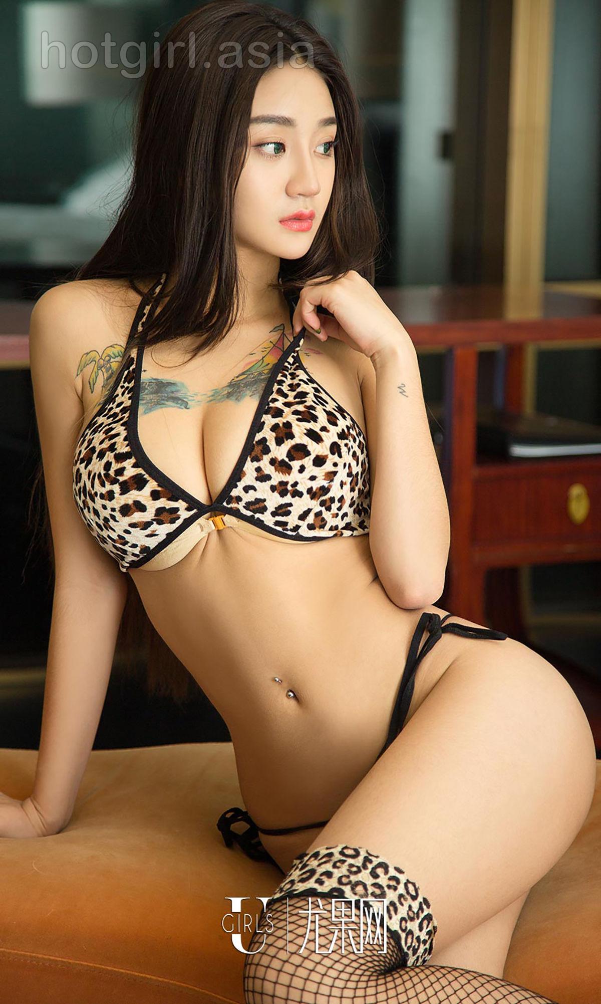 [Ugirls 爱 尤物] No.939 Aikesi-Leopard Girl Photo Album