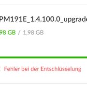 Mega Download Error