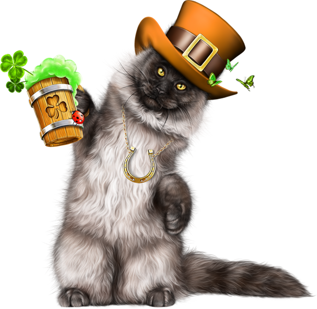 Leprechaun-Cat-With-Beer-39.png