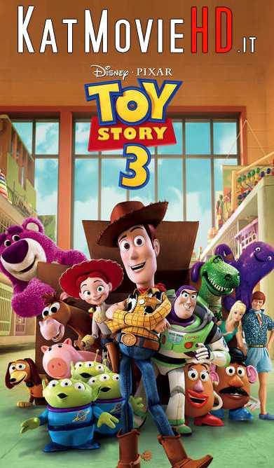 Toy Story 3 (2010) Hindi BluRay 720p 480p Dual Audio [ हिन्दी – English ]