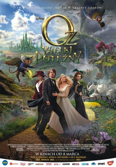 Oz Wielki i Potężny / Oz: The Great and Powerful (2013)