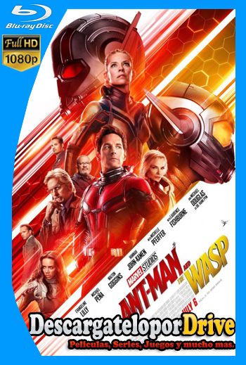 Ant-Man and The Wasp (2018) [1080p] [Latino] [1 Link] [GDrive] [MEGA]