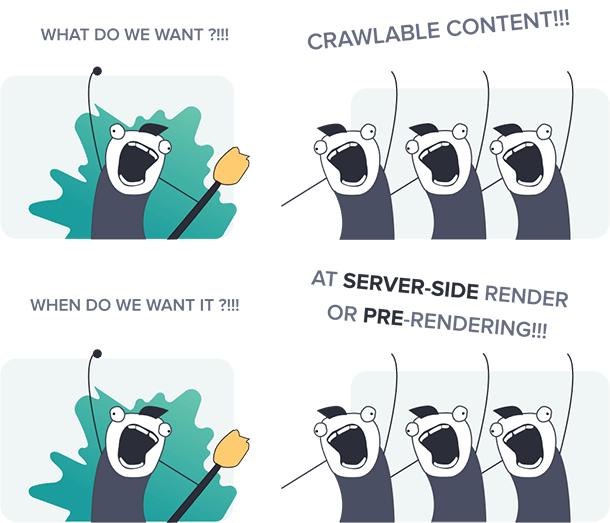 Server Side Rendering for SPA