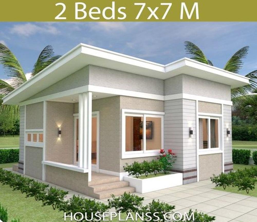 15 Desain Rumah Murah dan Kecil - Suryani Studio