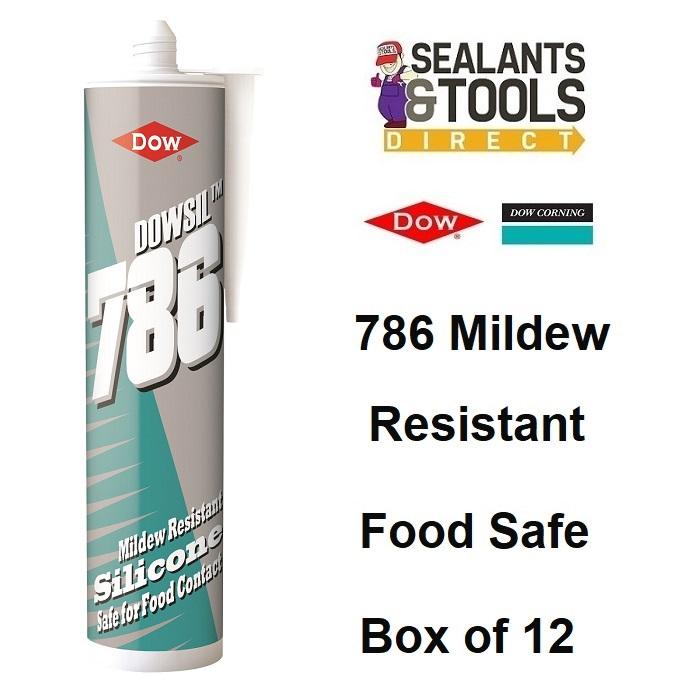 Dow Corning Dowsil 786 Silicone Sealant Food Safe White