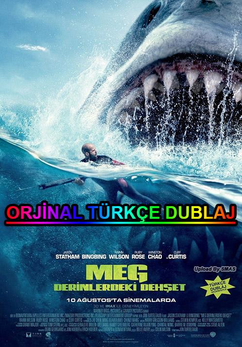 Meg: Derinlerdeki Dehşet | The Meg | 2018 | BDRip | XviD | Türkçe Dublaj | 1080p - m720p - m1080p | BluRay | Dual | TR-EN | Tek Link