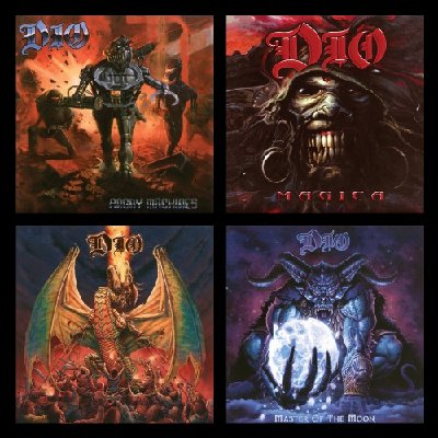 Dio -The Studio Album Collection: 1996-2004 (Remastered 2020)  mp3 320 kbps