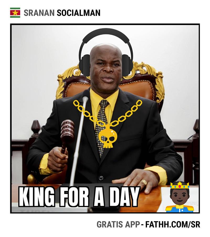 Sranan Socialman : King For a Day