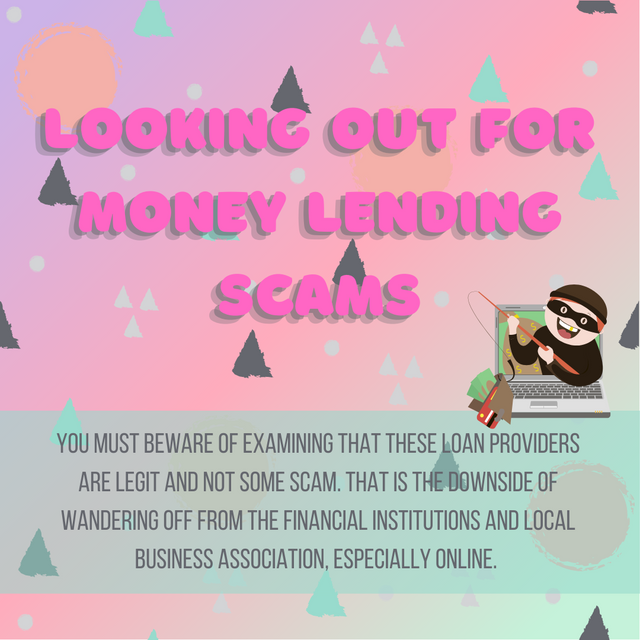 Looking-Out-For-Money-Lending-Scams