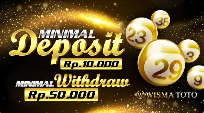 banner1_minimal deposit 10 ribu minimal withdraw 50 ribu