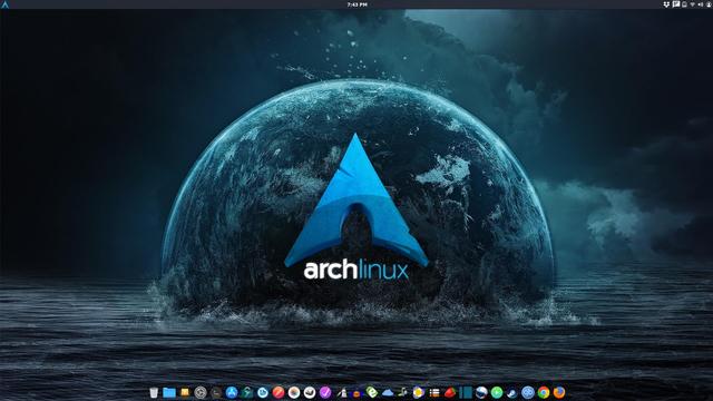 Arch Linux Desktop