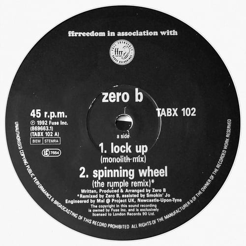 Download Zero B - The E.P. (Brand New Mixes) mp3