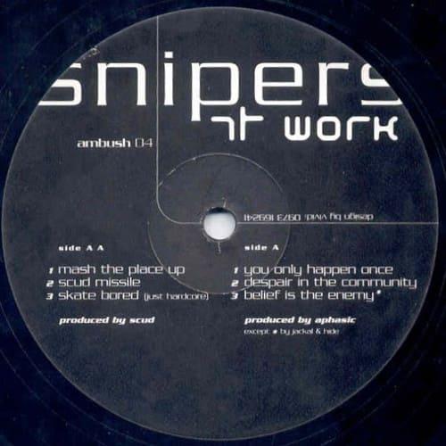 Download Scud / Aphasic / Jackal & Hide - Snipers At Work mp3