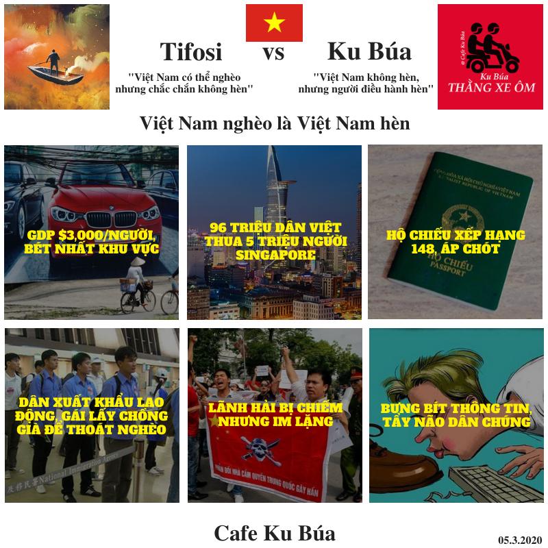 VIỆT NAM NGHÈO LÀ VIỆT NAM HÈN – TIFOSI VS KU BÚA