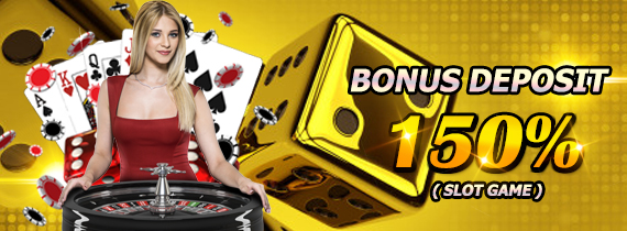 WELCOME BONUS NEW MEMBER 150% (SLOT GAME)