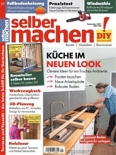 Cover: Selber Machen Heimwerkermagazin No 09 2021