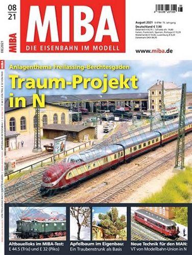 Cover: Miba Magazin Die Eisenbahn im Modell No 05, 06, 07, 08 2021