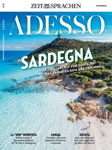 Cover: Adesso Magazin Die schönsten Seiten auf Italienisch No 10 2021